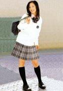 时尚女校服
