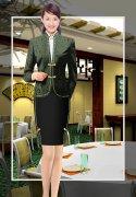 酒店女领班服装图