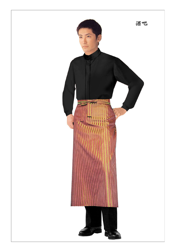 西餐厅传菜员服装款式图集