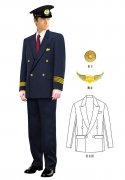 制服西服款式图