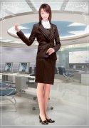 时尚女士职业装款式图片集