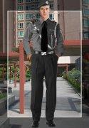 社区保安长袖制服