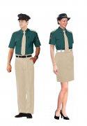 制服装短袖