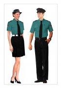 制服装短袖款式图