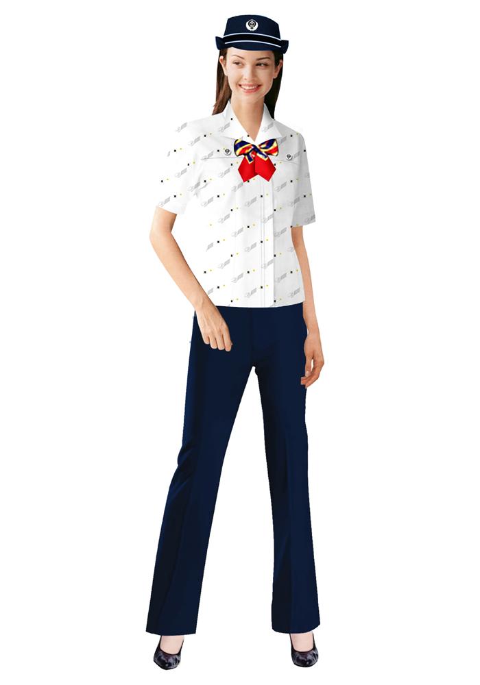 制服装短袖定制图