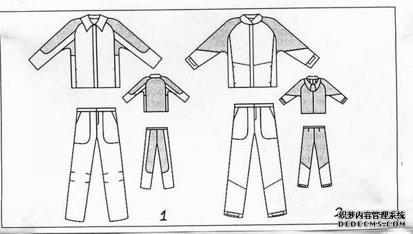 工作服-俄罗斯的防酸工作服