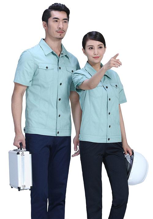定做夏季工作服如何清洗晾晒才能保护款式的色泽